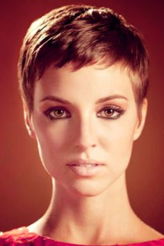 Pixie haircuts...I HATE this haircut and the latest trend involving these. Very few women look good with this cut, and they typically look better with longer hair. Not to mention the amount of time it takes to regrow your hair out, and the annoyance when everything is a different layer when growing. I just think it's so ugly. If you're a butch lesbian, this can look hot if done right, but feminine women trying to pull it off? Yuck! Just my 2 cents...