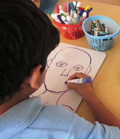 More Self-Portraits! | Art Lessons For Kids