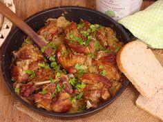 Izioni pyszne smaki: Żeberka zapiekane w kapuście Kung Pao Chicken, Meat, Ethnic Recipes, Food, Essen, Meals, Yemek, Eten
