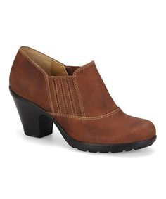 Take a look at this Mocha Cara Bootie by Softspots on #zulily today!