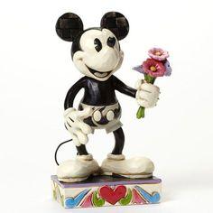 Figurine Mickey Noir et Blanc - For My Gal - Disney Traditions Jim Shore Disney Traditions by Jim Shore
