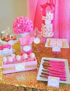 PRINCESS Party - Princess Birthday - Pink Princess - COMPLETE