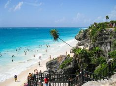 Tulum Beach near Mayan Ruins  Mexico #travel #traveling #vacation #instatravel #instago #trip #holiday #travelling #tourism #tourist #instatraveling #mytravelgram #travelgram #travelingram #igtravel #travelcoffeebook #путешествие #трип by travelcoffeebook
