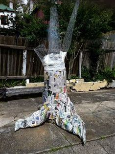 .: How To Make A Paper Mache Tree. Best instructions so far!