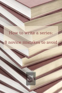 to Write a Series - 8 Novice Mistakes how to write a series - series writing mistakes to avoidhow to write a series - series writing mistakes to avoid Writer Tips, Book Writing Tips, Writing Words, Writing Quotes, Fiction Writing, Writing Process, Writing Resources, Writing Help, Writing Skills