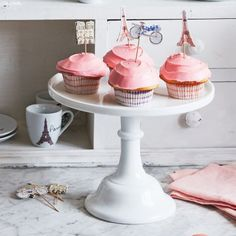 Mosser Milkglass Cake Stands, available at #surlatable