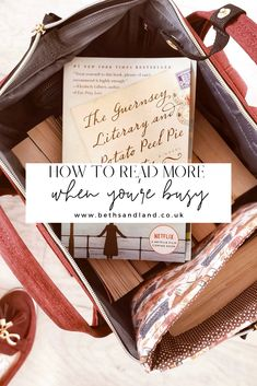 7 ways to make time to read when you have a busy schedule. This is how busy people make time to read every day! Cosy Reading Corner, Love Reading, How To Read More, How To Make, My Books, Books To Read, Online Book Club, Starting A Book, Enough Book