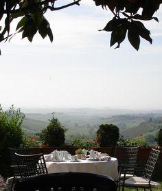 Tuscan Breakfast - Siena, Italy