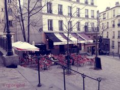 """4 Ways to Rediscover Your City """"A contented gypsy original photo taken outside Relais De La Butte in Montmartre located in Paris"""""""