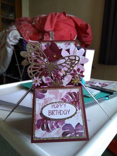 Happy Birthday, Gift Wrapping, Fancy, Create, Box, Cards, Gifts, Happy Aniversary, Paper Wrapping