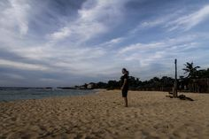 Lenny Through Paradise at Patar Beach in Bolinao, Pangasinan, Philippines.