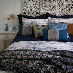 Tonal Blue Bedroom