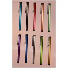 4 x Capacitive Stylus Random Colours for Touch Screen Smart Phones and Tablets on eBid United Kingdom £0.99