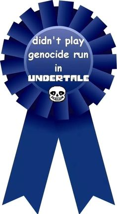 I didn't do a genocide run! I only did a pacifist and a true pacifist then I deleted the game off my phone so I chose to continue and not reset!