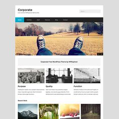 Corporate is a free WordPress theme developed & designed for corporate style (business) websites. The theme is well coded, bloat free and easy to use.