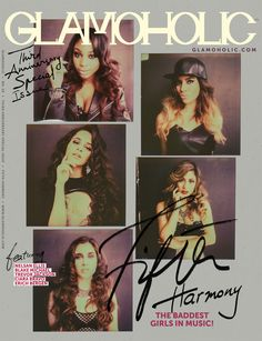 Here's Your Exclusive First Look on Glamoholic's Third Anniversary Special Issue Cover With Fifth Harmony! #glamoholic #magazine #fifthharmony #5thharmony #5h #music #celebrities #band #girls #fashion #womenswear #photography #style