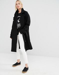 Cheap Monday | Cheap Monday Wool Coat with D-Ring Details
