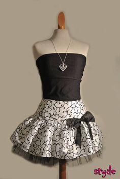 Minihame / miniskrit #black #tulla #satin Formal Dresses, Fashion, Dresses For Formal, Moda, La Mode, Fasion, Gowns, Fashion Models, Trendy Fashion