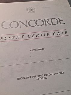 What was it like to fly on the Concorde? - Quora