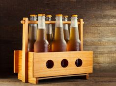 make your beer glasses with beer bottles