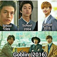 Lee Dong Wook, Gong Yoo and BTOB Sungjae ~ in the past, present and future, I love you forever (예지앞사)