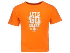 Edmonton Oilers NHL Toddler Lets Go Oilers Tee
