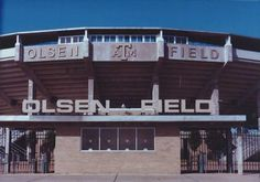 THIS is the Olsen Field, I know, love, and spent my college time with. I love Aggie Baseball.