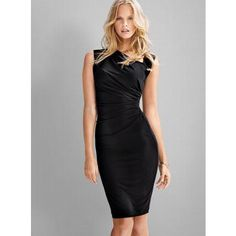 VICTORIA'S SECRET ASYMMETRICAL SHIFT DRESS