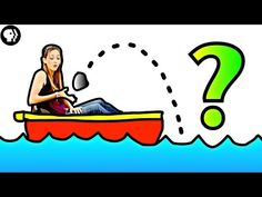 """""""Can you solve the boat puzzle?"""" Great Physics Girl videos on Youtube!"""