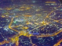 Nachts über Dortmund=Night over Dortmund