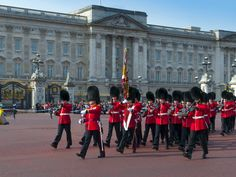 Changing of the Guard, Buckingham Palace, London, England