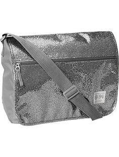 Girls Canvas Messenger Bags