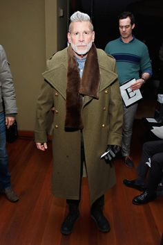 Nick Wooster Photos: Front Row at Michael Bastian