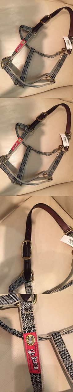 Halters 139601: Horse Size 5 A Baker Halter Leather Crrown Nwt -> BUY IT NOW ONLY: $37.99 on eBay!