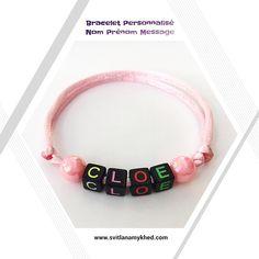 Bracelet CLOE Message Logo, Messages, Pandora Charms, Beaded Bracelets, Charmed, Jewelry, Bracelet Patterns, Special Person, Acrylic Beads