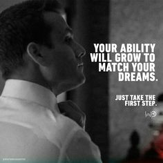 You have what it takes. Stop doubting yourself. JUST START!✔Tag someone who need to know this. . . #whatwouldharveydo #harveyspecter #motivationalquotes #gabrielmacht #dreams #wwhd