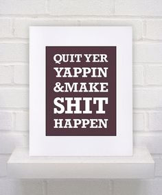 Working on it. Print by KeepItFancy on Etsy.
