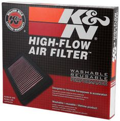 Packaging for the K&N 33-2125 replacement engine air filter for the Skoda Superb