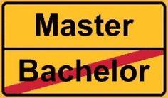 Bachelor oderMaster