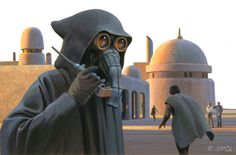 McQuarrie Monday - Garindan: the Mos Eisley spy.