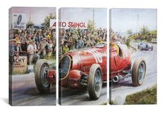 Alfa Romeo Headed For Victory (3 Piece)