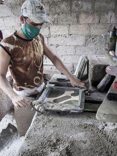 El gobierno municipal ha establecido alianzas para la producción de materiales de la construcción.  (Foto: CLAUDIA RODRÍGUEZ)