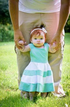 Daddy's little girl is too cute to handle! Be Inspired Boutique community photo.