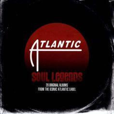 Atlantic Soul Legends : 20 Original Albums From the Iconic Atlantic Label [CD]