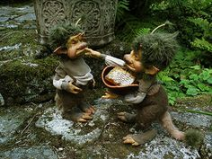 Lore of Simple Things by Ari Berk- Dolls by Wendy Froud, photograph by Toby…
