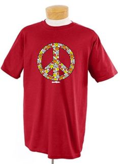 Peace Out basketball tee. Tee available in lots of different colors.