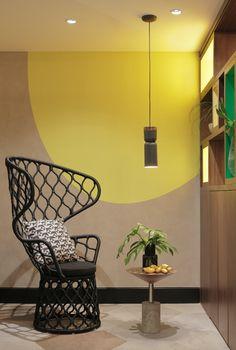 Tidelli Painho High Back Chair at the Yoo2 Hotel, Rio de Janeiro Brazil