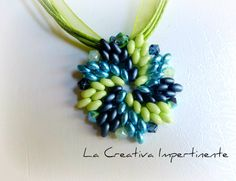Tutorial Ring and Pendant Superduo Twin by CreativaImpertinente