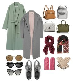 """""""Untitled #10"""" by jkopossova-1 on Polyvore featuring Mother of Pearl, ZAC Zac Posen, MANGO, Givenchy, Rebecca Minkoff, Ray-Ban, Simone Rocha, Banana Republic, Tom Ford and GANT"""