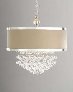 """dining room lighting option  """"Fascination"""" Chandelier - Horchow"""
